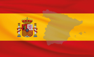 Spanias flagg